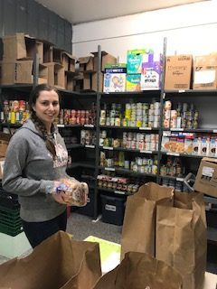 Laura, Food Bank Volunteer