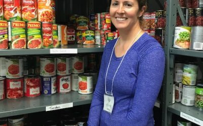 Kelly – Food Bank Volunteer